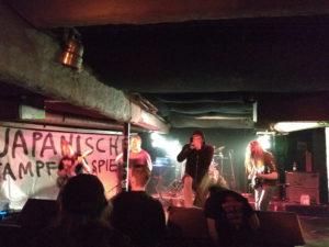 Die Grindcore Band Japanische Kampfhörspiele. Osnabrück 2018
