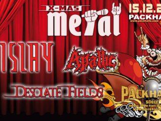 Metal X-Mas mit Islay, Apallic und Desolate Fields