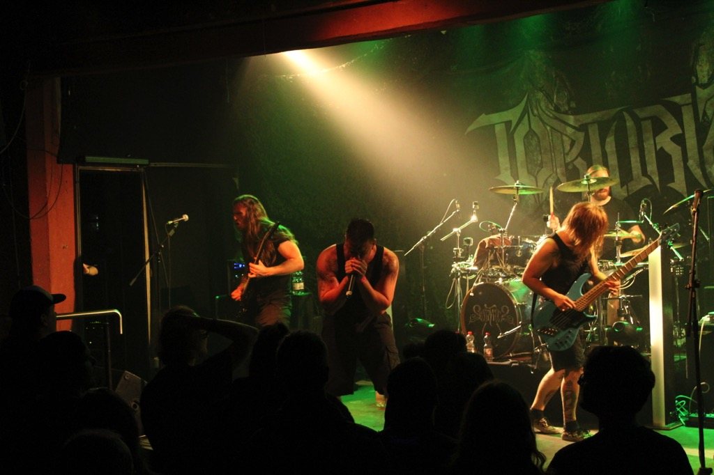 Torturized auf dem Unleash the Kraken Festival No. 7 (2018) im Juki 42, Ahrensburg.