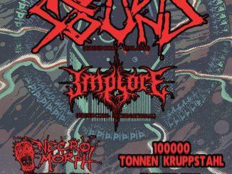Revolt! Rotten Sound, Implore, Necromorph, 100k Tonnen Kruppstah