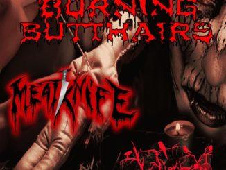 Burning Butthairs/Meatknife/Volière