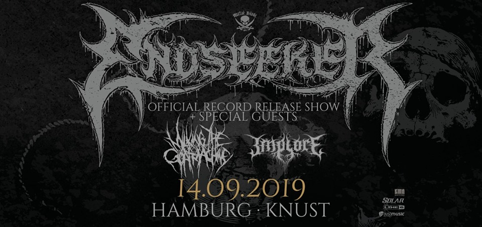 Endseeker - Official Record Release Show 2019