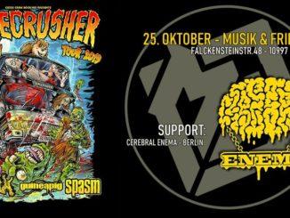 GOREcrusher Berlin: Gutalax, Spasm, Guineapig & Cerebral Enema