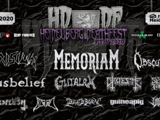 Heidelberg Deathfest 2020 in der Halle02 in Heidelberg.