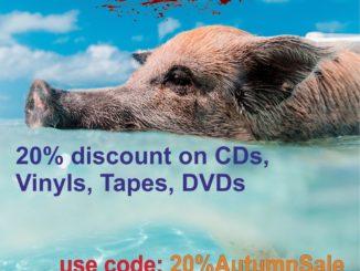 Rotten Roll Rex 20 % Gutschein, Rabatt auf CDs, Vinyl, Tapes und DVDs