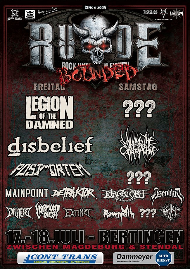 RUDE Bounded 2020 Open Air